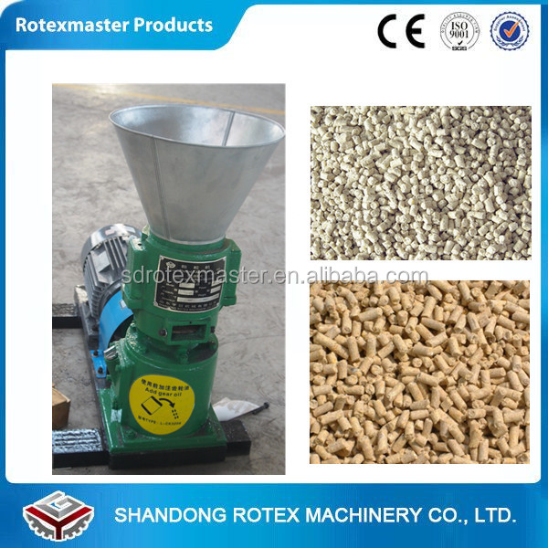 Farm Poultry Equipment Flat Die Animal Feed Mill Sheep Cattle Food Pellet Machine