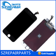 Full original high quality glass digitizer and lcd display for iphone 6 form Foxconn
