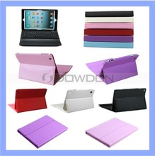 For iPad Air/iPad 5 Leather Case Stand with Bluetooth Keyboard