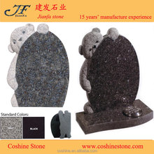 teddy bear headstone Boo Bear head stone