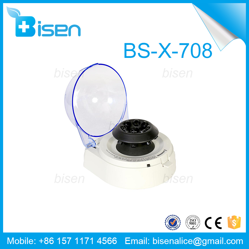 BS-X-707/X-708 Mini Blood Plasma Centrifuge for Lab and Medical