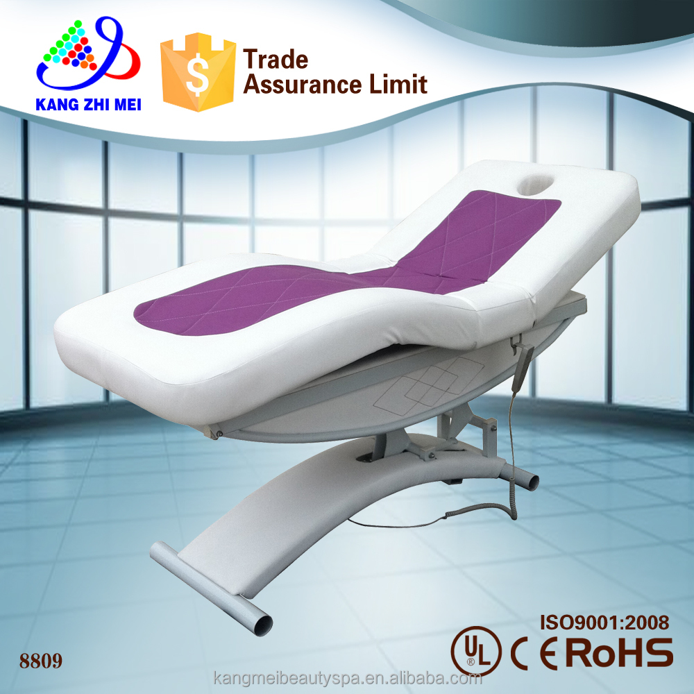 salon chairs and furniture used electric massage table (KM-8809)