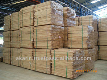KD Rubberwood Rough Sawn Timber