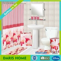 Wholesale Printing Hookless Shower Curtain