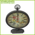Decorative Desk Clocks Metal Table Clocks
