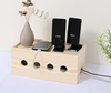 Wood Storage Box for Electric Wires /wooden socket box