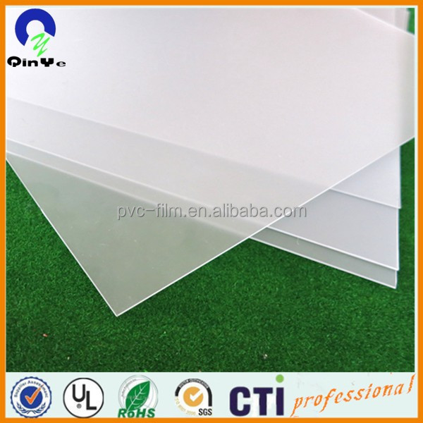 High Opaque Grain White PVC Rigid Plastic Sheet For Playing Cards