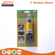JY Cheap price High immediate bond strength quick dry plastic cement glue