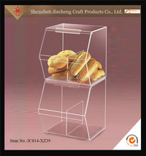 Jiecheng lovely acrylic cube sweat candy lollipop display stand from china