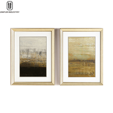 Unifur handmade beautiful scenery oil wall art painting on canvas dining room