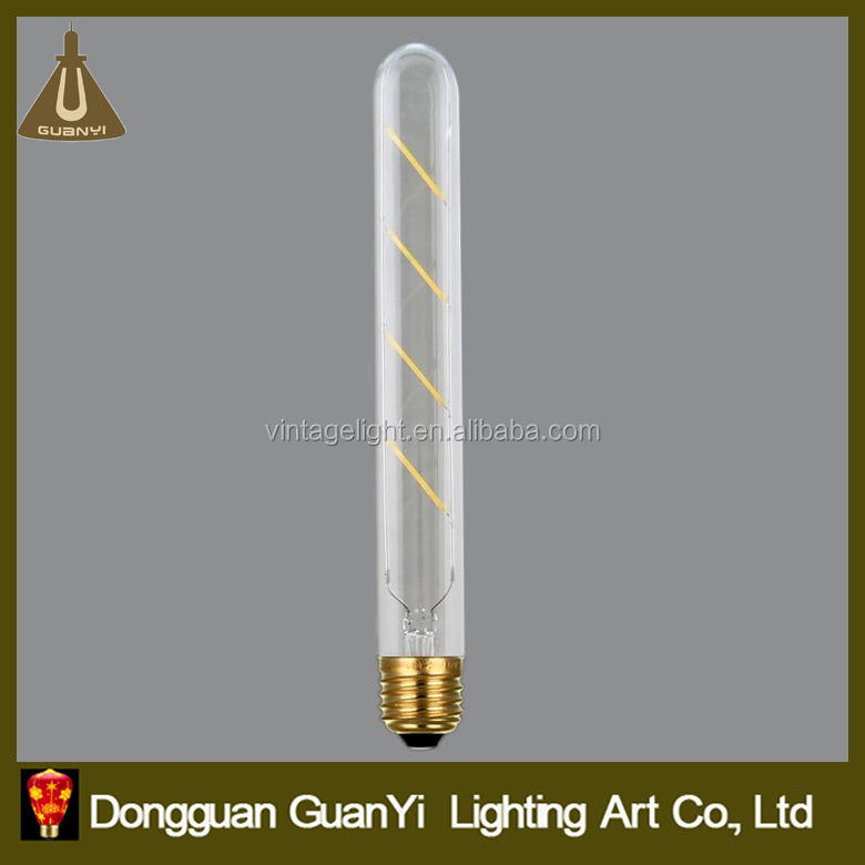 4w T10 LED Edison Filament Retro Vintage Light Bulb Decorative Filament Bulb