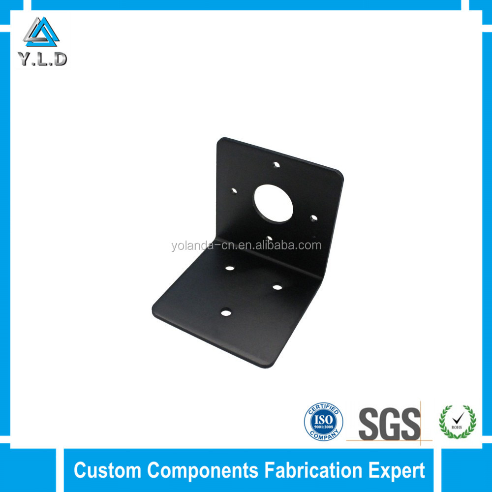 Custom Metal Fabrication Services Powder Coating Mounting Bracket Table Leg Mount Angle Bracket