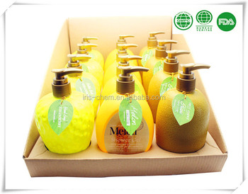 Cleaning Fruit Shaped Hand Wash Soap in Bottle 12pcs in PDQ
