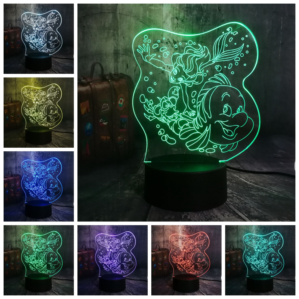 Remote Control Night Light Alphabet Letter Z 7 color Change Desk Table LED Bulb USB Touch Battery Powered Atmosphere Lighting