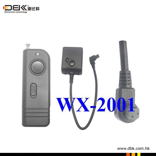 WX-2001 Wireless Remote Switch For CANON:450D/400D/350D/300D PENTAX:K20D/K200D/K10D/K100 SAMSUNG:GX-20/GX-10