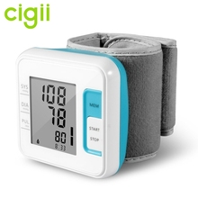 WHO indicated wrist meter digital blood pressure monitors with IHB checking/average