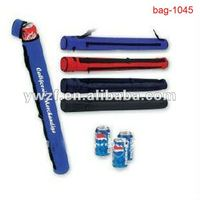 Wholesale Tube cooler bags for 3 or 6 Cans