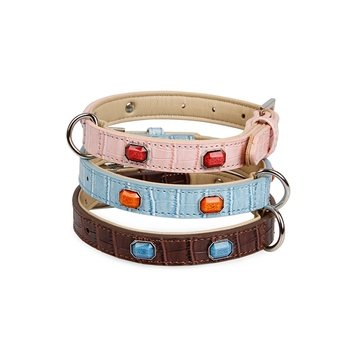 Tianyuan pet personalized dog collar,dog leather collar