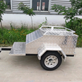 Aluminum / Alloy Motorcycle Behind Cargo Trailer, Luggage Trailer