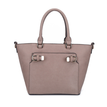 Export Worldwide Custom No Minimum Order Smart Modern Womens Handbags, European Plain Tote Ladies Hand bags Sample