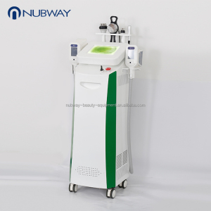 CE / FDA approved 2 RF +1 Cavitation handles fat freezing home use portable slimming machine