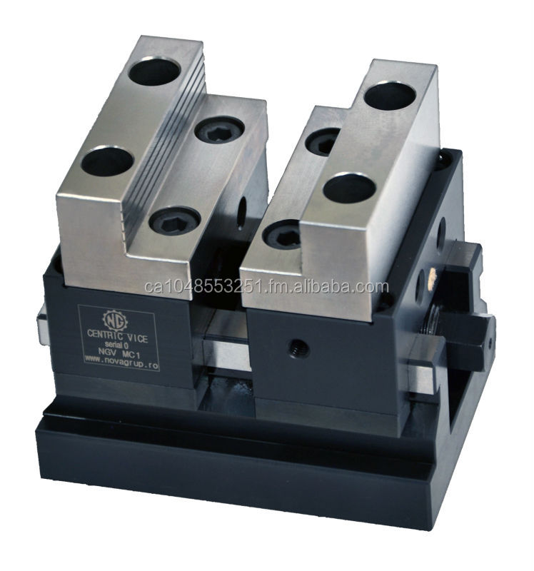 Self-centering Mechanical Precision Vise
