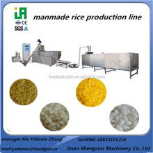 man made rice production line