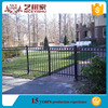 2016 new top sale powder coated aluminum fence post design/allibaba Outdoor aluminum fence for garden fence