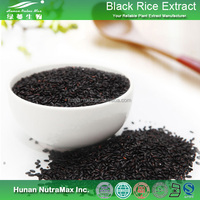 High Quality Organic Black Rice Extract/Black Kerneled Rice Extract