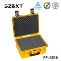 High impact plastic equipment tool carrying case