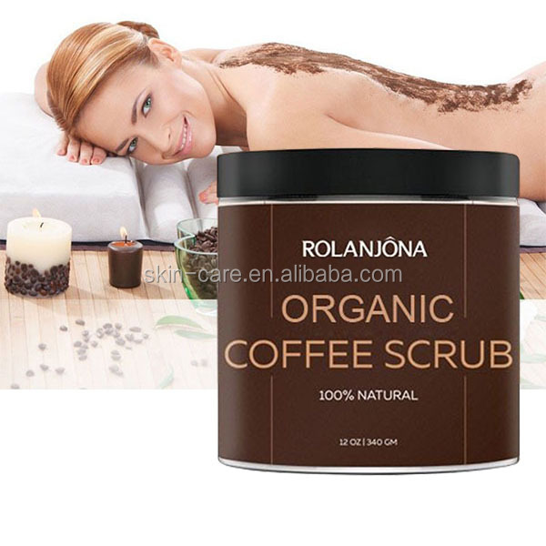 ROLANJONA bulk wholesale ODM OEM private label himalayan salt coconut coffee body scrub