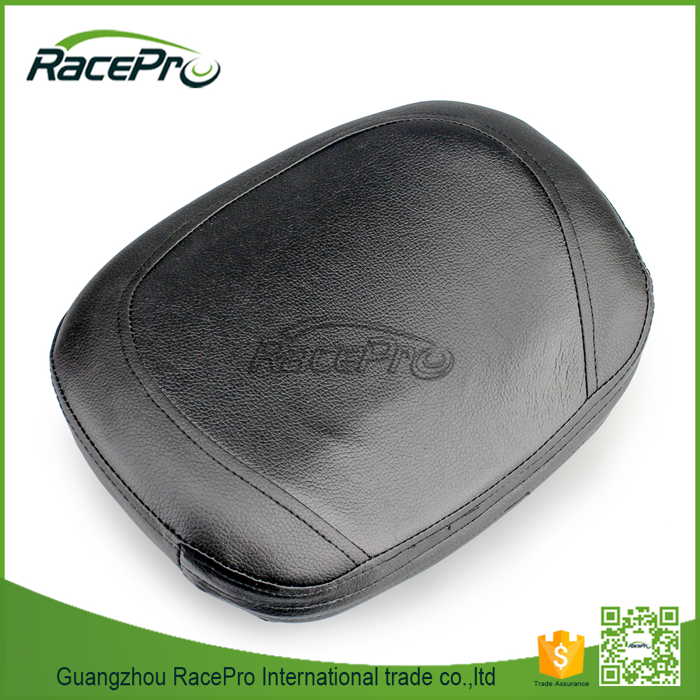Motorcycle Backrest Cushion Sissy Bar Pad for Harley Choppers