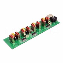 Manufacturer bare 8 port usb hub mobile charger circuit board power bank pcb pcba assembly