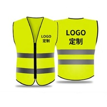 Custom High Visibility Wholesale Reflective <strong>Safety</strong> Vest for men and women