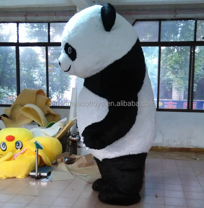 Factory direct sale funny inflatable polar bear mascot costume adult inflatable polar bear mascot for sale