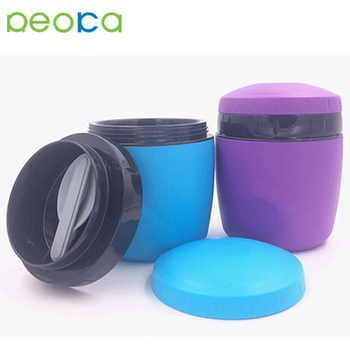 Hot Sales Food Storage Container Lunch Box Plastic Round Lunch Box