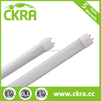 4ft PC+glass led t8 tube 18w led light 1200mm t8 led tube light