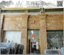 Amber Jade Marble for wall and paving marble slab