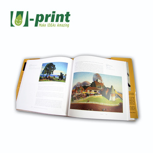 High Quality Customized Hardcover Book Printing with Colorful Picture