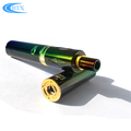 Wholesale price rechargeable evod electronic cigarette 1100mah e-cig kit with glass tank