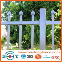 Powder Coated Pressed Spear Top Tubular Hercules Steel Security Fence in Garden,Home,Factory, School ,Villa(Factory & Exporter)