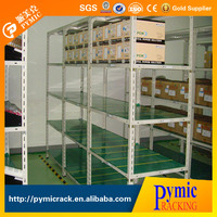 Powder coated slotted angle rack