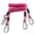Professional Fall Protection Double Hook Safety Printed Lanyard with Carabiner