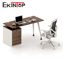 China supply metal frame office desk stainless steel computer desk