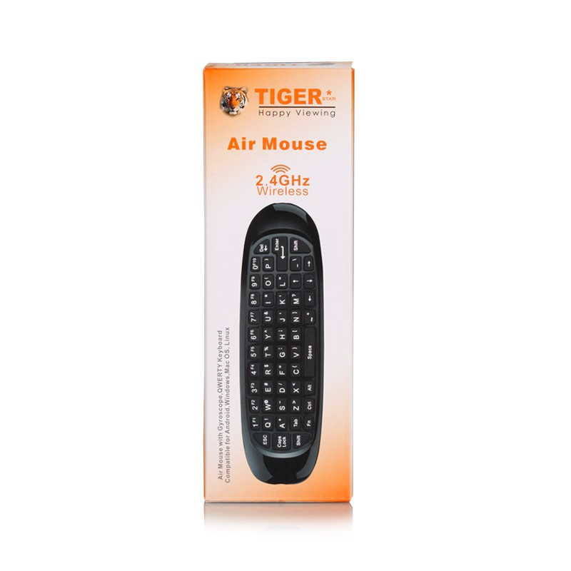 Tiger 2.4g Air Mouse For Android TV Box Remote Control