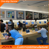 Modern Retail Shopping Mall Modern Computer Shop Interior Design Custom Furniture Design for Mobile Shop