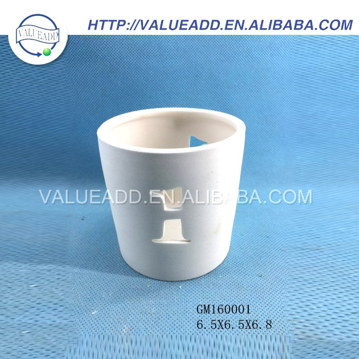 Competitive price ceramic circle of friends candle holder manufacturers in china