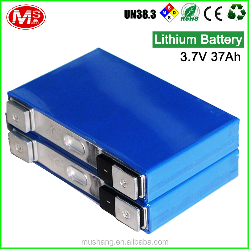 Hot sale 3.7V 37Ah rechargeable Lithium battery for electric vehicle