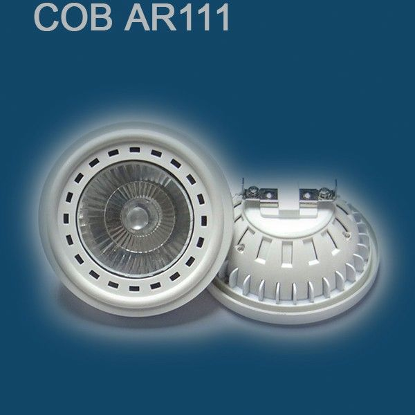 New Arrival White dimmable cob ar111 led spotlight replace 60w halogen qr111 for shops