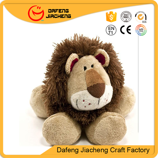 China Animal Sitting Soft Large Plush Lions Toys